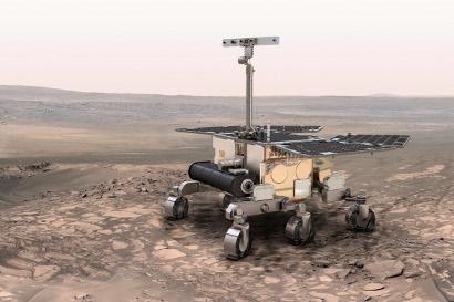 ESA's ExoMars Rover. Credit: ESA