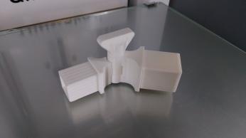 EatingAid 3D printed hinge. Credit: Remap