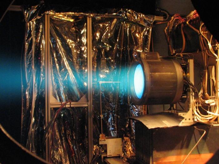 QinetiQ's T6 ion thruster. Credit: NASA JPL