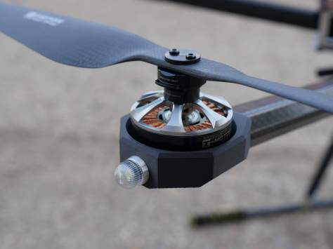 TOTAL drone. Credit: Inertial Stability Systems