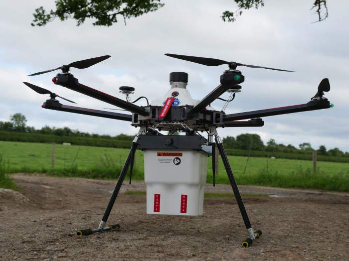 Drone motor mount design completed for Inertial Stability