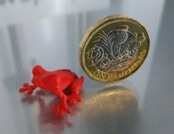 3D printed treefrog. Credit: MorenaP@Thingiverse