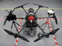 Hydrogen fuel cell hexacopter. Credit: ISS Aerospace
