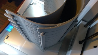 Face shield stack. Credit: 3D Crowd